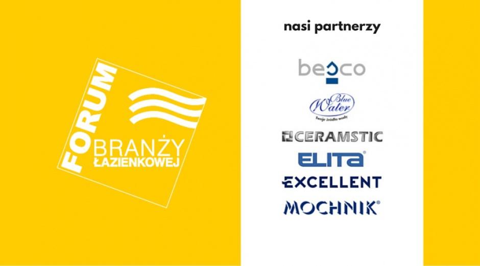 Razem dla łazienek - oto Partnerzy III Forum Branży Łazienkowej