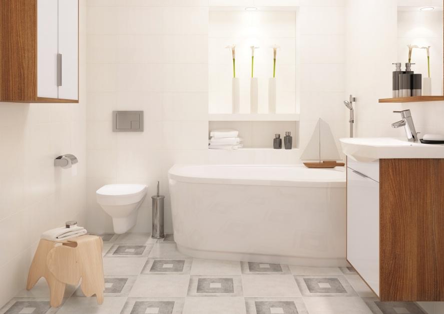 Aranżujemy Białe Płytki 10 Pomysłów Do Małych łazienek