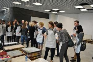 Trendy w praktyce - Ceramstic zaprosił dziennikarzy na warsztaty