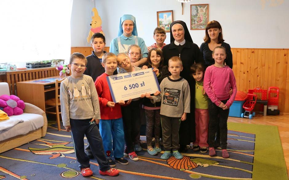PSB charytatywnie na rzecz domów dziecka