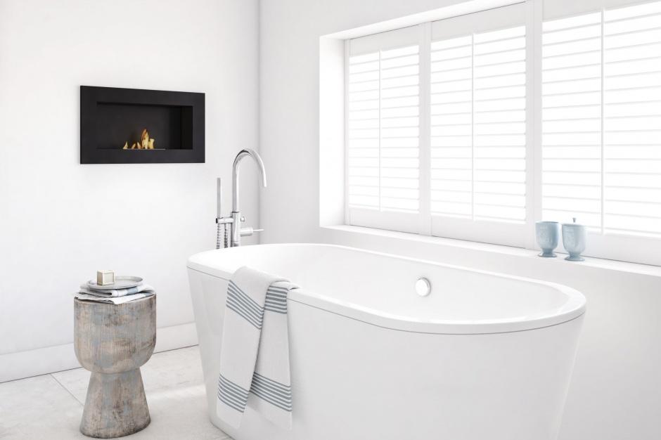 Ekspert radzi: Jak zainstalować biokominek w salonie kąpielowym?
