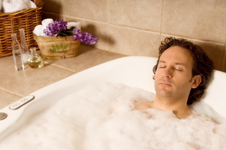 Relaks w łazience – aromaterapia dla panów