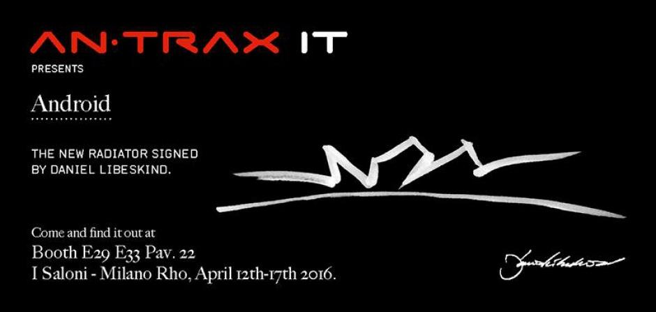 Spotkanie z marką Antrax i Danielem Libeskindem - w Mediolanie na iSaloni