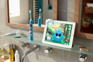 Mycie zębów z tabletem – szczoteczka dla dzieci z Bluetooth