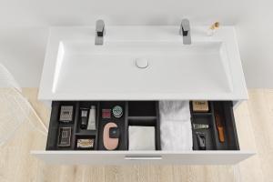 Umywalka dla dwojga -  nowy projekt sieger design