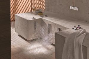 Prysznic do nóg - strumienie zimne i ciepłe
