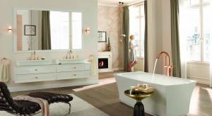 Baterie łazienkowe – nowość w odcieniu różowego złota