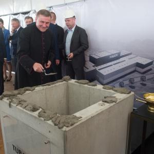 Tubądzin w wielkim formacie - ruszyła budowa fabryki