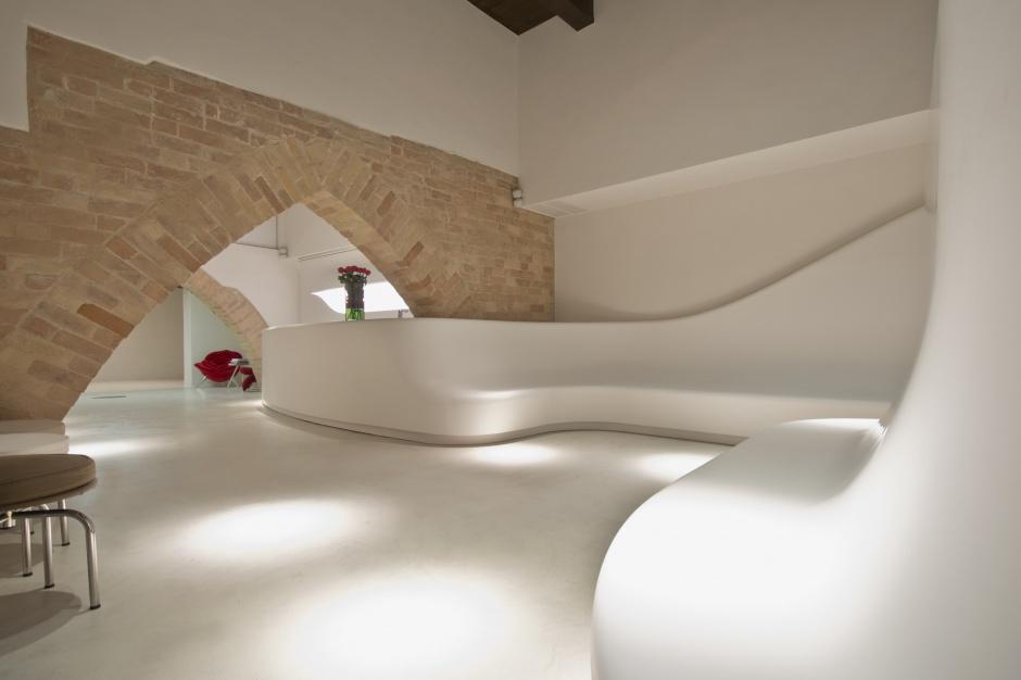 2w1, czyli włoski pomysł na połączenie spa i galerii