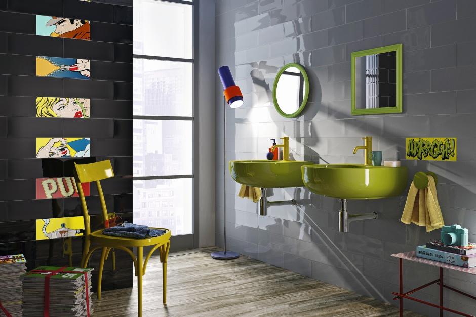 Łazienka w stylu loft - wybieramy płytki
