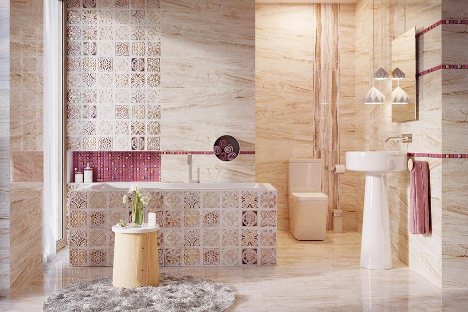 Płytki z prawdziwą miedzią – nowość do łazienek