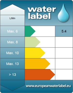 Etykieta European Water Label.