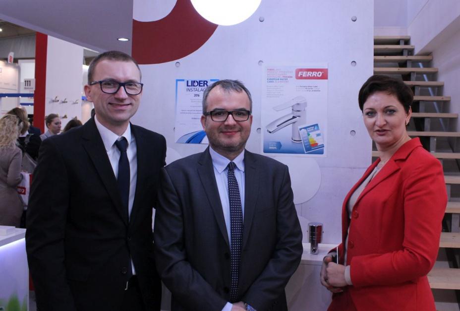 Ferro dołącza do European Water Label