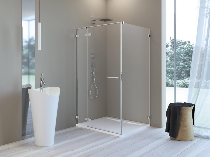 Kabiny prysznicowe – nowości łatwe do czyszczenia
