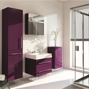 Meble łazienkowe – wybierz kolekcje w połysku
