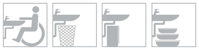 Zastosowanie specjalnego syfonu. Rys. Jacek Trembecki, projektant Grupy Armatura