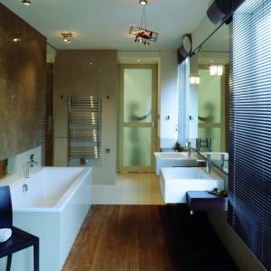 Łazienka z siłownią – gotowy projekt przy sypialni