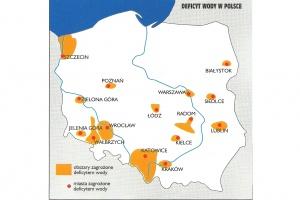 Woda w Polsce - jest jej za mało