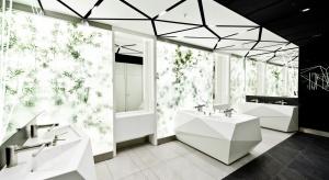 Ściany z mchu - Złote Tarasy mają nowe łazienki