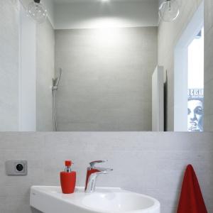 Szara łazienka - pomysł na minimalistyczne wnętrze