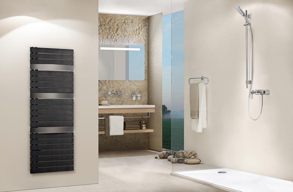 Grzejnik łazienkowy – nowość z odchylanymi kolektorami