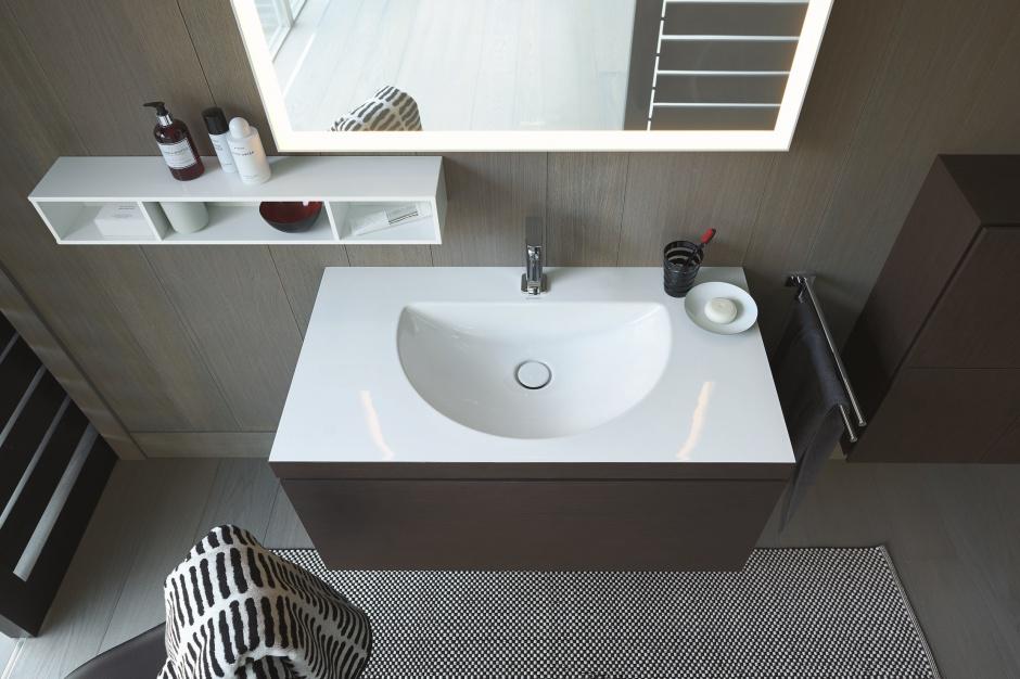 Duravit ma nową technologię produkcji umywalek meblowych