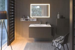 Umywalka z szafką – gładkie połączenie w nowej technologii