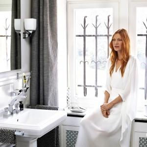 Modne łazienki 2016 –  styl Kaviar Gauche, Kiliana Kernera, Tatiany Patitz