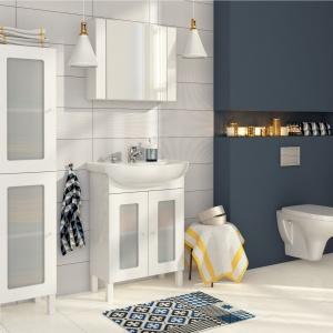 Łazienka w stylu skandynawskim – nowa seria białych mebli