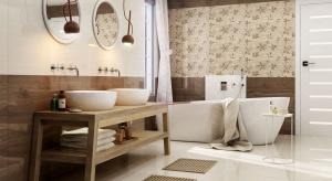 Płytki jak drewno – modne kolekcje łazienkowe