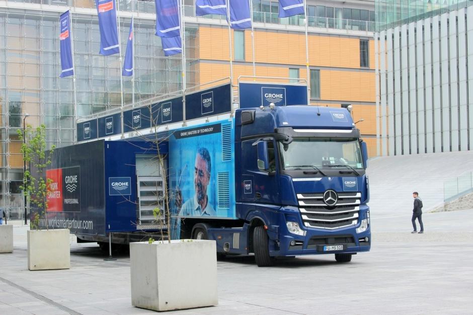 Ciężarówką na Studio Dobrych Rozwiązań?