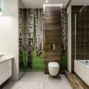 Wanna z parawanem – zobacz pomysły na małą łazienkę