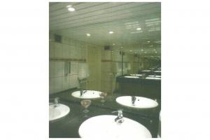 Toalety w kawiarni Foksal (1996 r.)