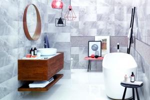 Modne łazienki -  trendowe kolory na rok 2016