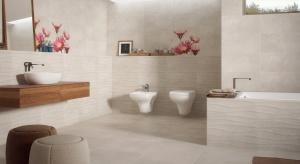 Kremowe płytki – nowa seria do łazienki i kuchni