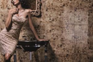 Modna łazienka - w stylu art déco lat dwudziestych