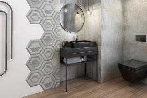 Gres do łazienki – nowe kolekcje 75x75 cm