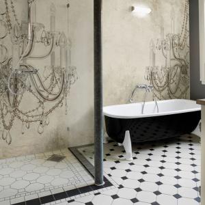 Artystyczne tapety łazienkowe pobudzające wyobraźnię