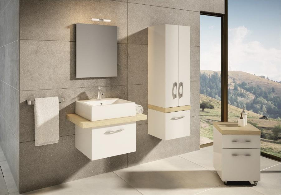 Modna łazienka – nowości w kolorach natury