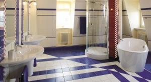 Niebieska łazienka – gotowy projekt dla dzieci