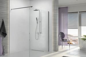 Prysznic i kabina we wnęce? To rozwiązanie sprawdzi się w łazience