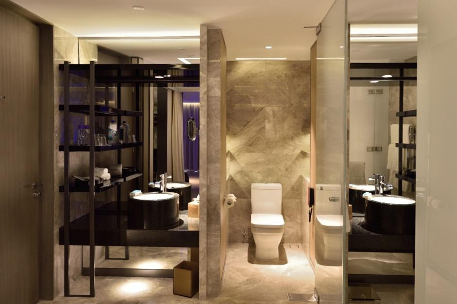 Chiński łazienkowy luksus - w hotelu Chang'an w Pekinie