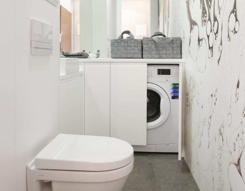 Radzimy Szafka Na Pralkę 15 Pomysłów Z Małych łazienek