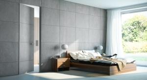 Modne drzwi do łazienki – nowość z betonu, aluminium, skóry
