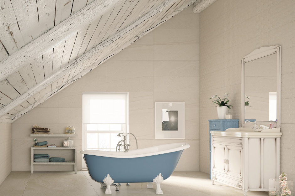 Łazienki w stylu chalet – pomysły na aranżację