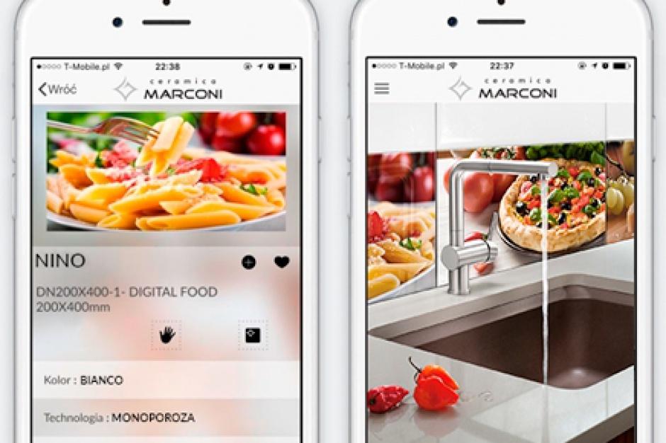 Ceramica Marconi ma swoją aplikację mobilną