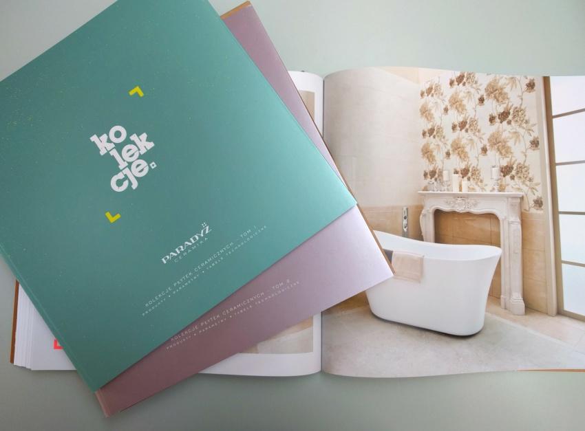 Trzytomowa Ceramika Paradyż - nowy pomysł na katalog