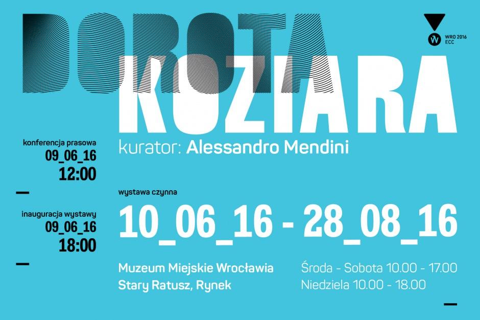 Tubądzin mecenasem wystawy Doroty Koziary