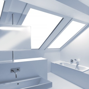Ekspert radzi: Na co zwrócić uwagę projektując łazienkę na poddaszu?