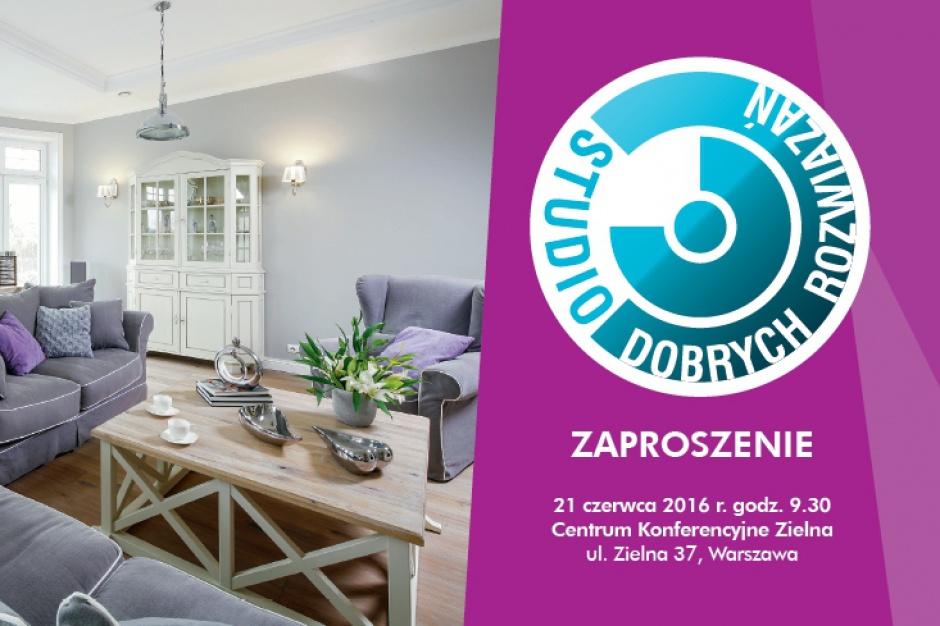 Studio Dobrych Rozwiązań już dziś w Warszawie!